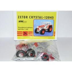Traktor Zetor Crystal 12045 - IGRA Model Toys - červený