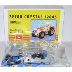 Traktor Zetor Crystal 12045 - IGRA Model Toys - modrý