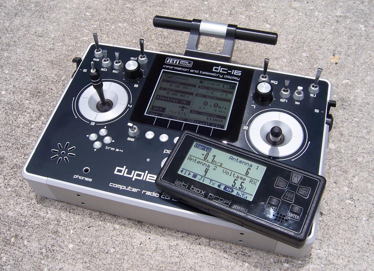 Vysílač Duplex DC-16 EX M1
